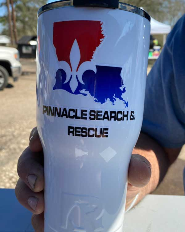 pinnacle search and rescue cajun navy rtic cooler
