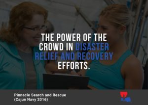 The Power of the Crowd in Disaster Relief and Recovery Efforts